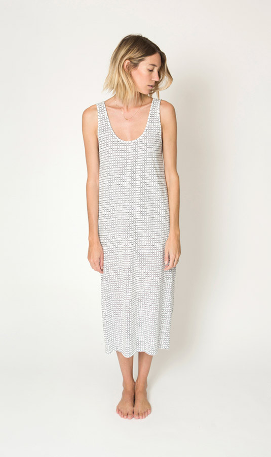 ILANA KOHN - JERSEY TANK DRESS - XS only