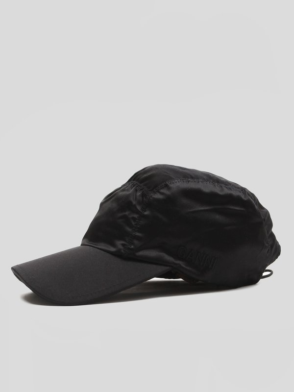 Ganni Ruched Cap