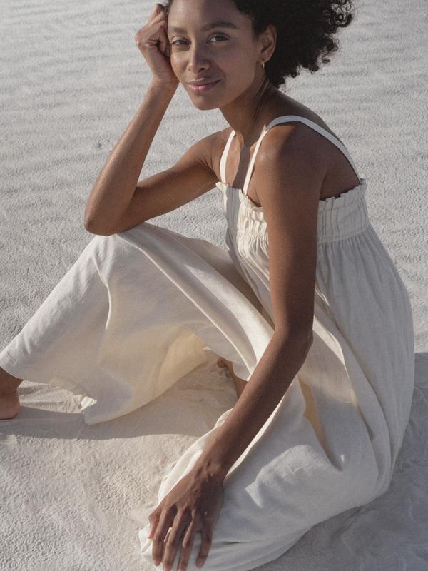 LAUDE the Label Laurel Jumper - Ivory Khadi