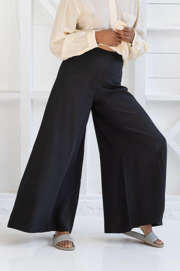 Vintage PALAZZO PANTS - black