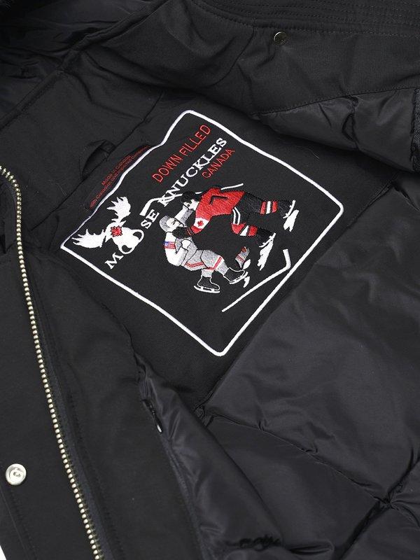 Moose Knuckles Stirling Parka Lds - Black/Black
