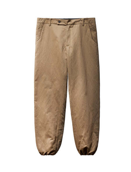 1205 Elasticated Cuff Trouser Khaki