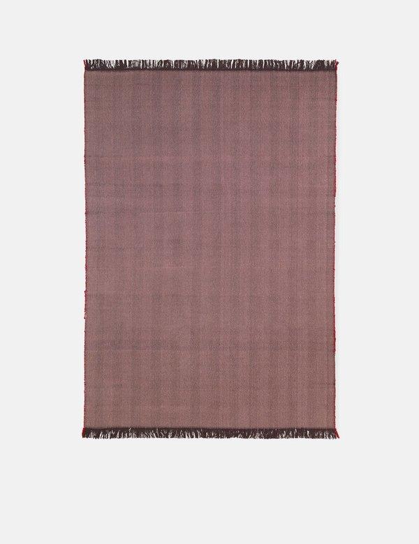 Ferm Living Herringbone Blanket - Aubergine