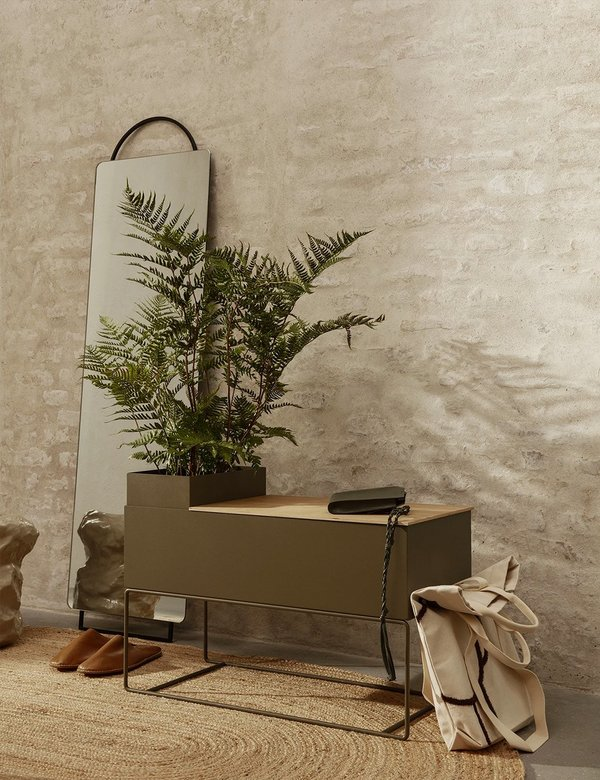 Ferm Living Large Plant Box - Olive
