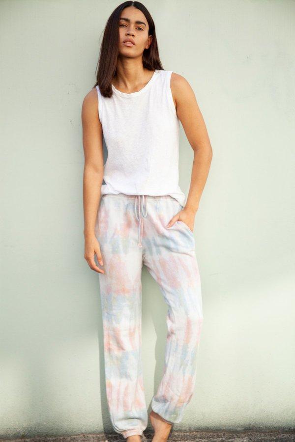 Velvet Sunrise Tie Dye Pants