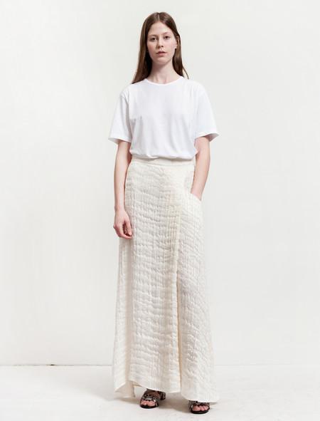 1205 Overpleat Threadwork Skirt