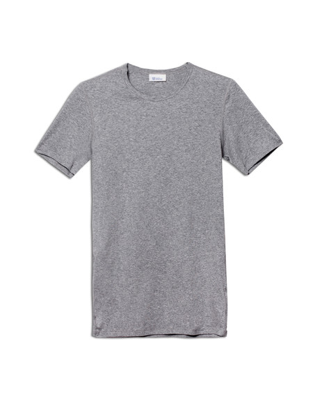 Schiesser Mens Shirt 1/2 Ludwig - Grey