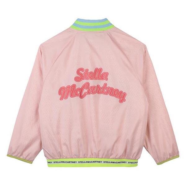 Kids Stella McCartney Sport Jacket With Logo - Pink