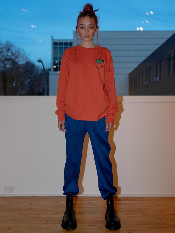 Issey Miyake Straight Trouser - Night Blue