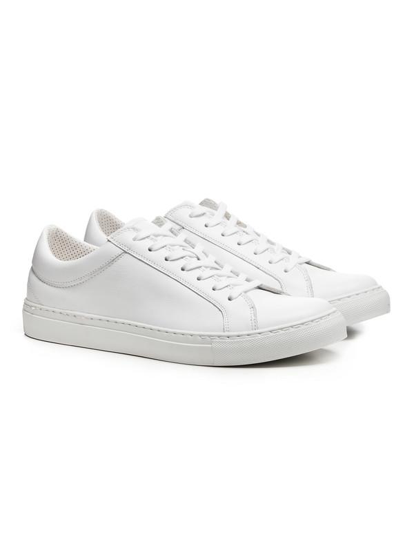 2b72bbb06 Erik Schedin Men s White Leather Sneaker. sold out