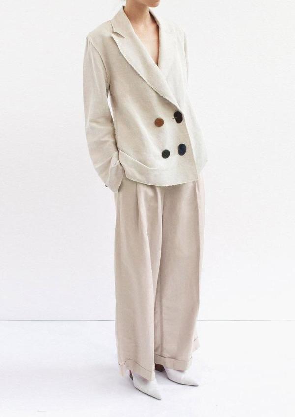 Rejina Pyo Dylan Trousers - Light Grey