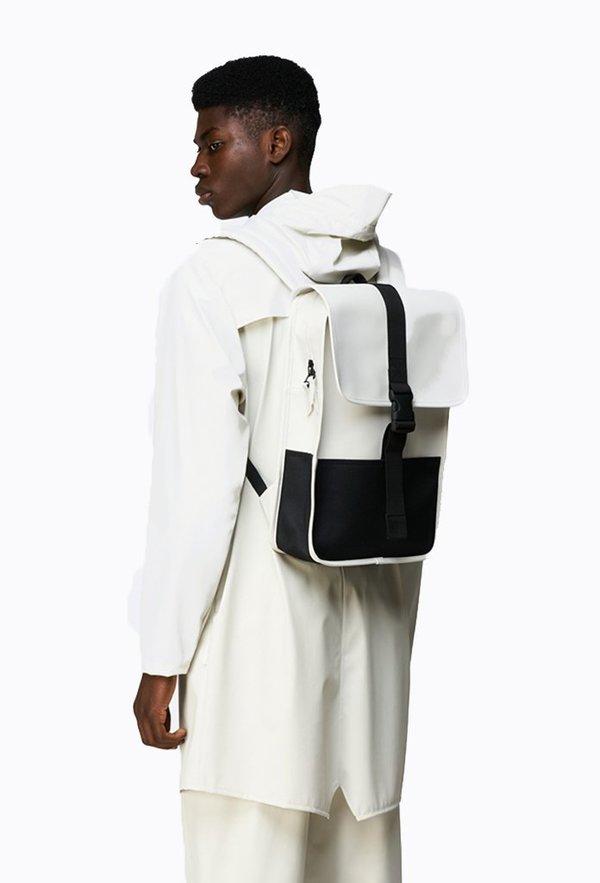 Rains mini Buckle Backpack - Off White