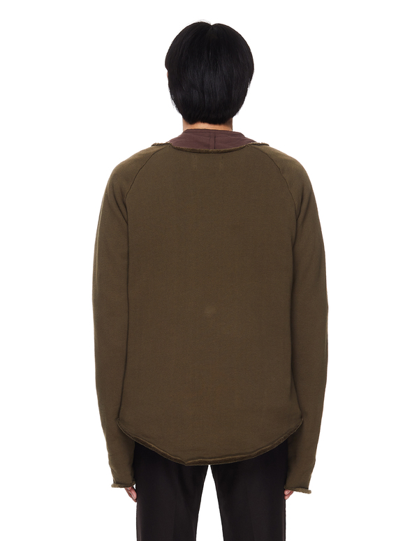 L.G.B. Khaki Cotton Sweatshirt
