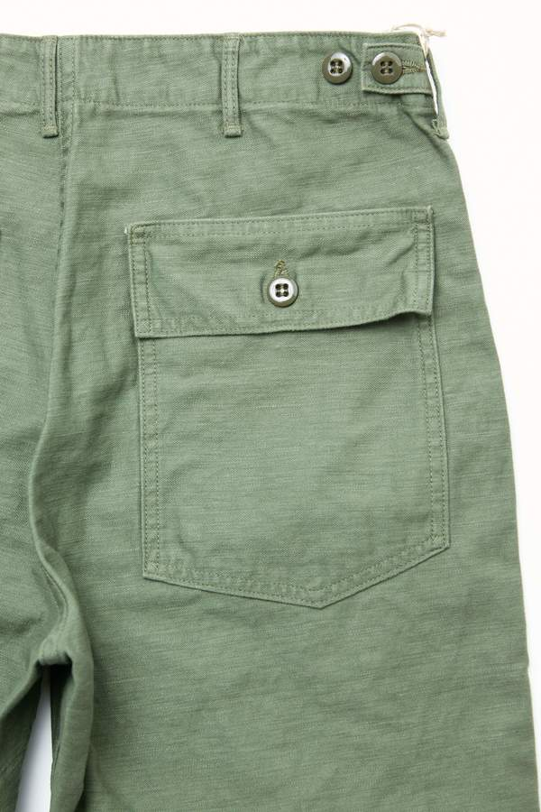 Orslow US Army Fatigue Shorts - Green