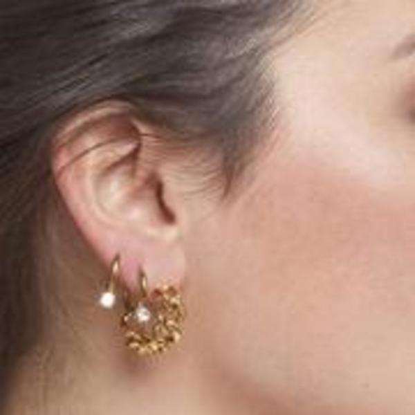 Ellie Vail Jewelry Braxton Chain Hoop