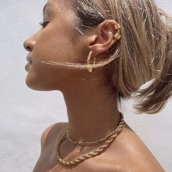 Ellie Vail Jewelry Luka Rope Chain Necklace