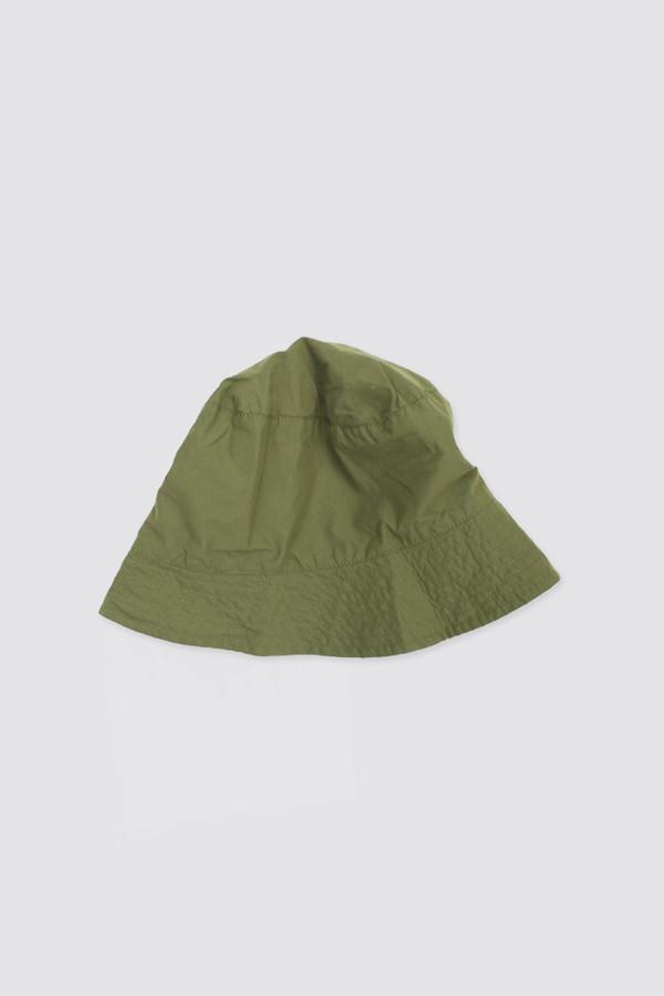 Engineered Garments Bucket Hat Olive Nyco Poplin  9bcf8eff6d57