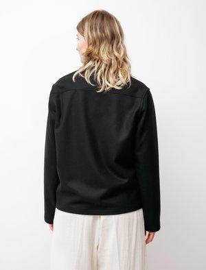 BODE Louie Shirt Jacket - Fish Black