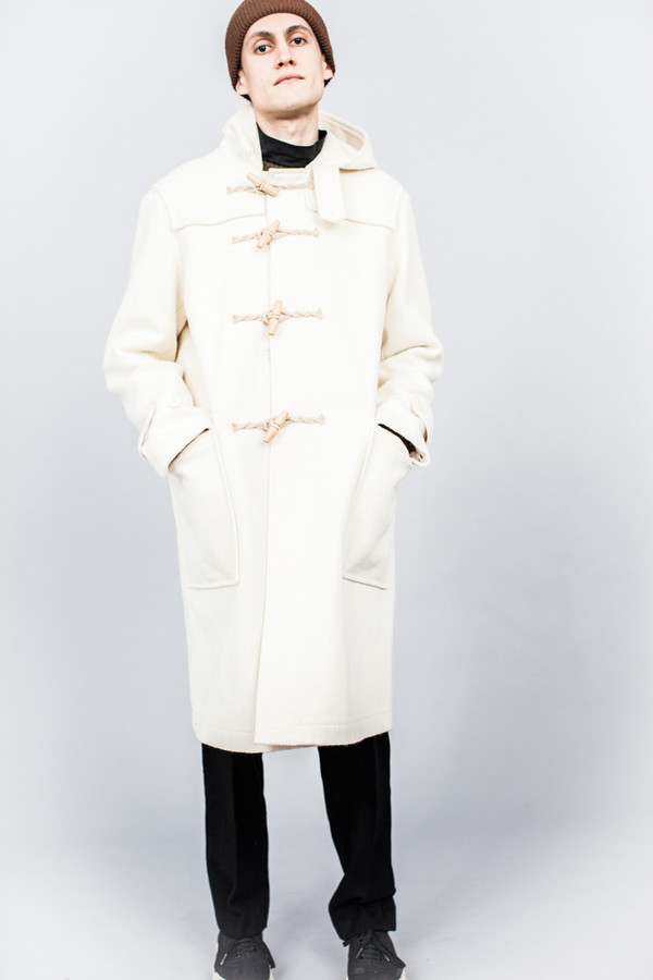 MHL Duffle Coat Duffle Coating Cream | Garmentory