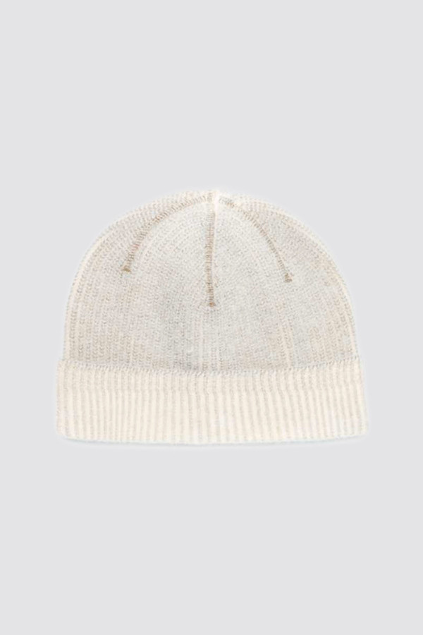 Our Legacy Knitted Hat Nicotine Heavy Wool  8a386c94d7a