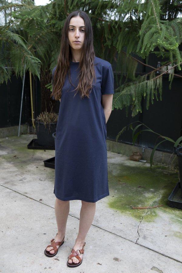 Sunspel T-Shirt Dress - Navy
