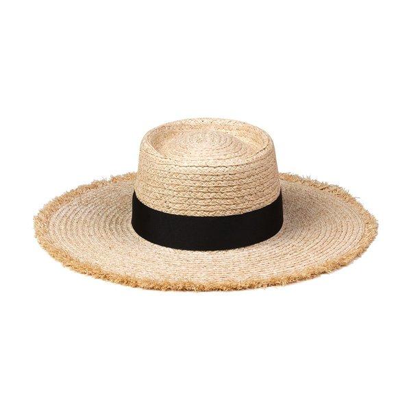 Lack Of Color The Ventura Hat - Natural/Black
