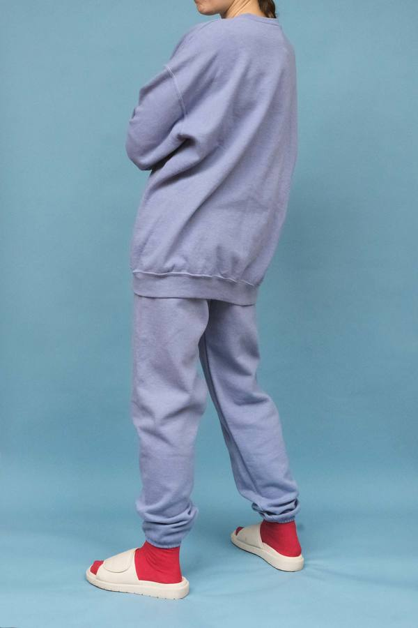 WOLF & GYPSY VINTAGE Hand Dyed Relaxed Fit Sweatshirt - Powder Blue