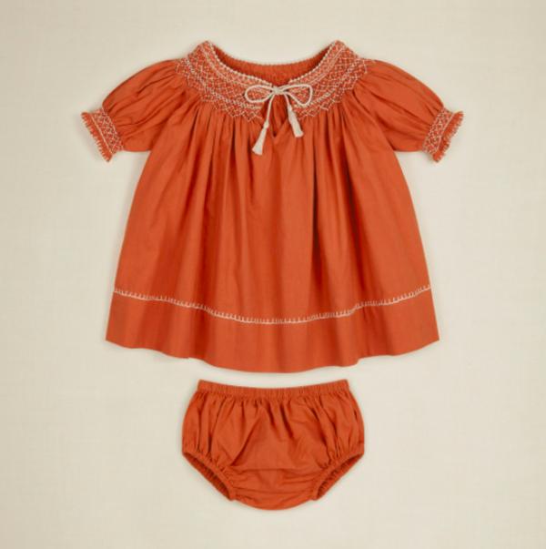 kids Apolina Baby Verna Set - poppy