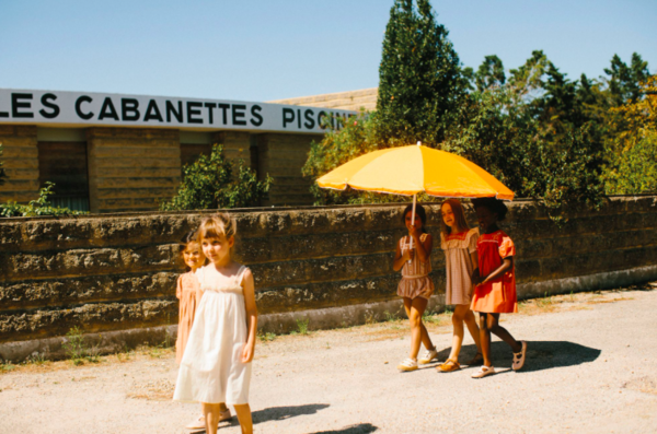 kids Apolina Josephina Dress - Picnic Check