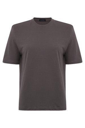 Parentezi Shoulder Pad Tee - Grey