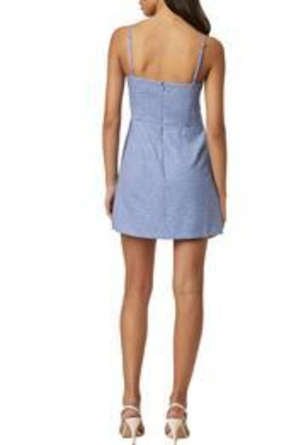 French Connection Elao Whisper Dress - Chalk Blue
