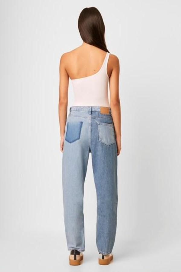 French Connection Saachi Jersey One Shoulder Bodysuit - White
