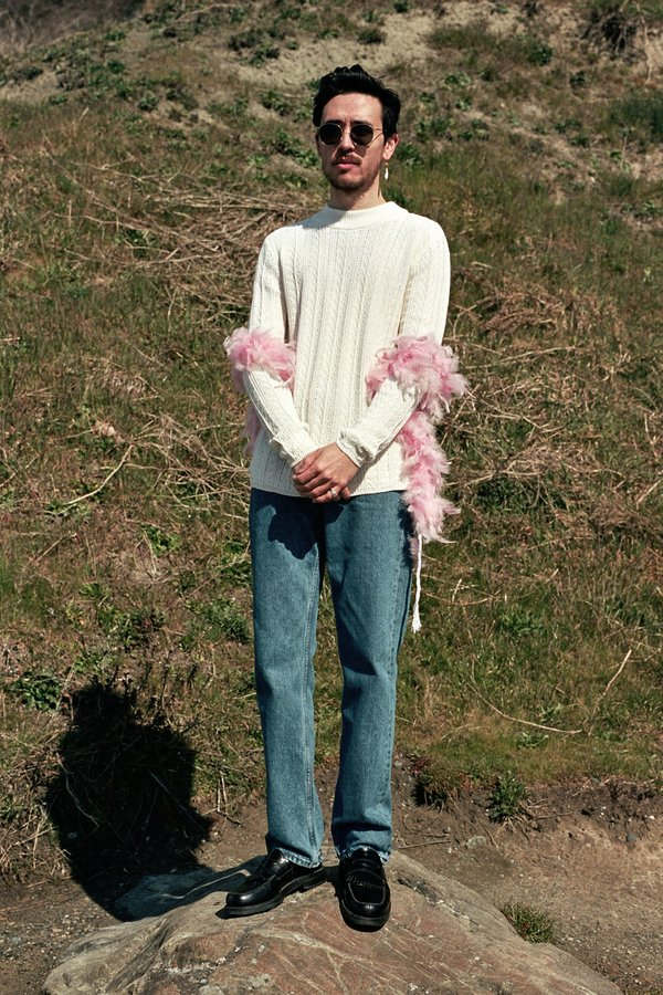 Séfr Rufus Sweater - Ivory