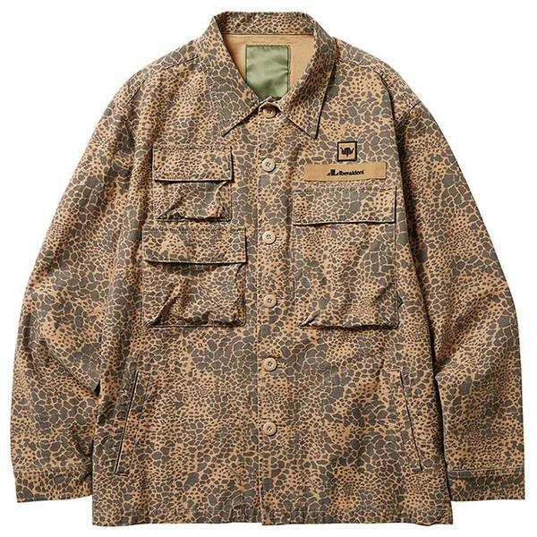 Multi Pocket Field Jacket 'Beige Camo'