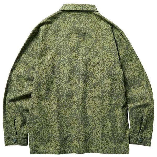 Multi Pocket Field Jacket 'Olive Camo'