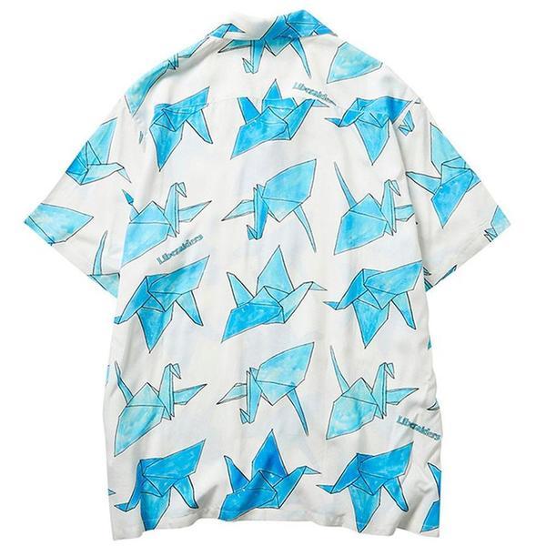 Origami Rayon Shirt 'White'