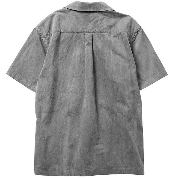 Overdyed S/S Shirt 'Gray'