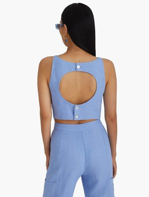 Paloma Wool Rachel Top - Light Blue