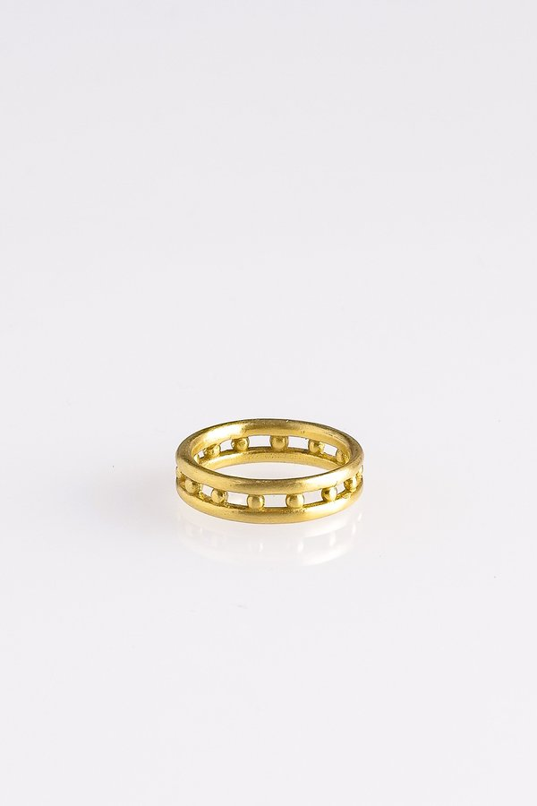 SEED BAND IN GOLD