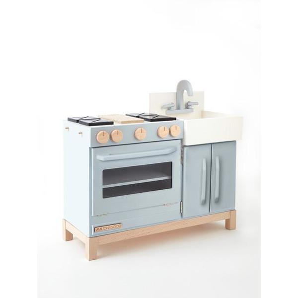 milton & goose essential play kitchen grey