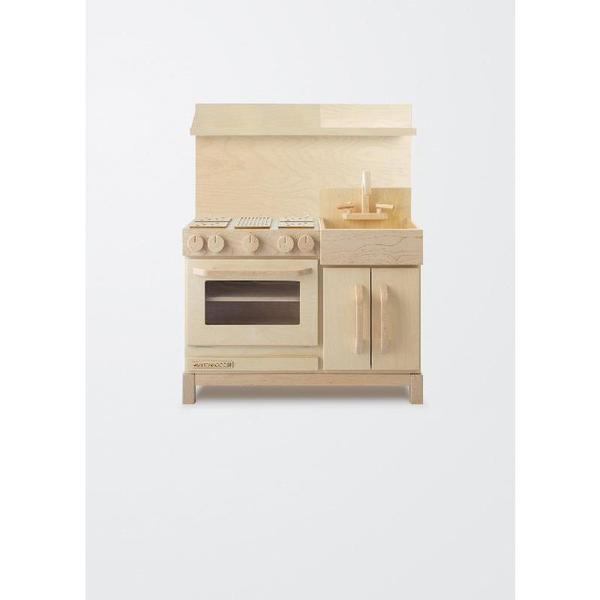 milton & goose essential play kitchen - hood only natural