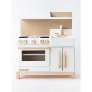 milton & goose essential play kitchen - hood only white
