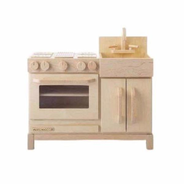 milton & goose essential play kitchen natural