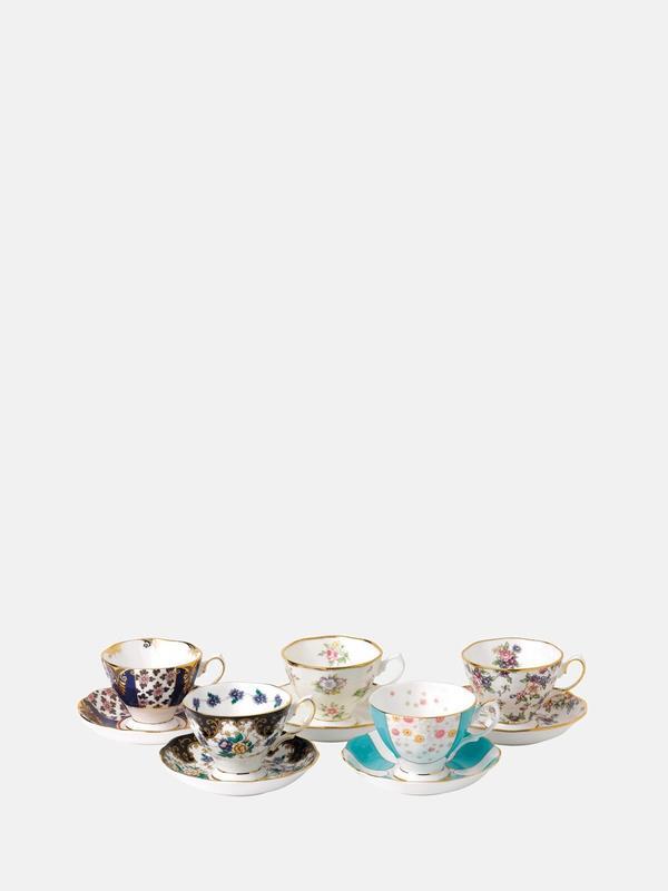 100 Years 1900-1940 5P Teacup Saucer