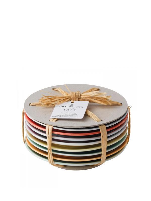 1815 Tapas Plates, Set of 8
