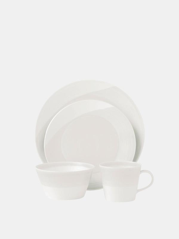 1815 White 4-Piece Place Setting