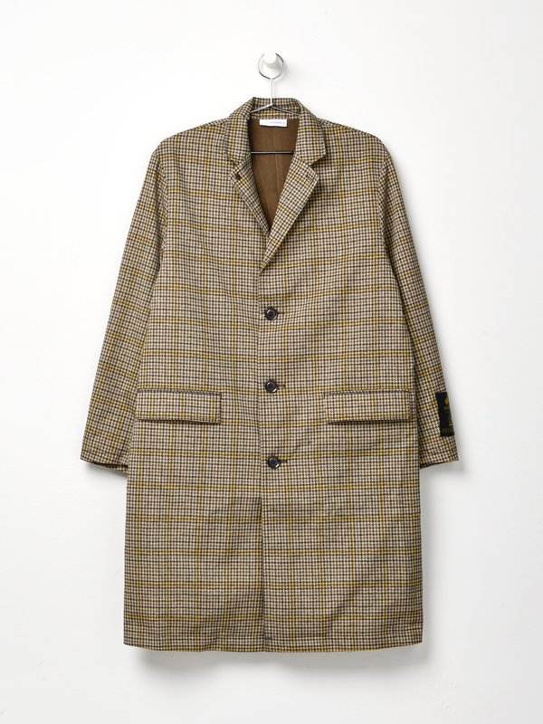 ALPHADRY Chesterfield Coat