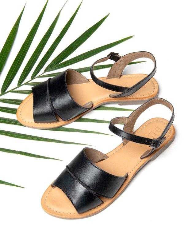 Ankle Strap Sandal_Black