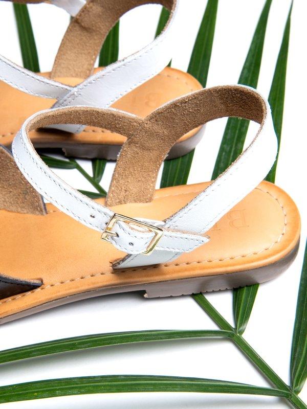 Ankle Strap Sandal_CB_Navy/White
