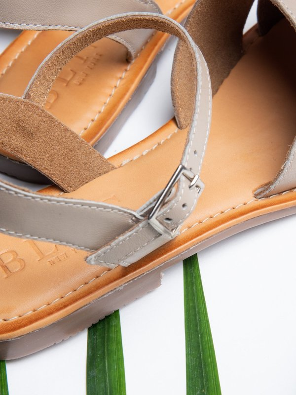 Ankle Strap Sandal_Taupe